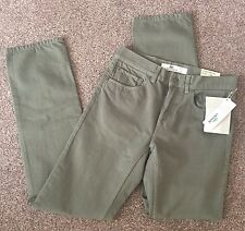 Mens Lacoste Chino Jeans Khaki W30 L34 Standard Fit/Straight Leg. New With Tags