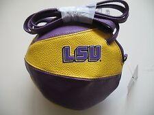 LSU Louisiana State Tigers New Crossbody Basketball Purse Handbag Licensed