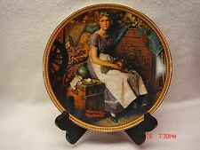 Dreaming in the Attic - Norman Rockwell - Knowles Collection Plate