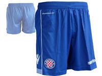 Macron Hajduk Split Away Short blau Fan Fußball Hose Turnhose Kroatien Gr.S-XXL