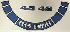 NEW FORD FALCON  XD-XE 4.9l AIR CLEANANER DECAL KIT FACTORY 5.8 FAIRMONT & ESP