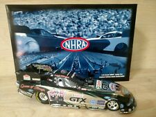 Ashley Force Hood 2010 Castrol Queen of Hearts Ford Mustang Funny Car Chrome