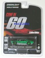 Green Machine Chase 1967 Ford Mustang Eleanor from Gone in 60 Secs 1/64 Scale