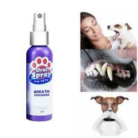 Pet Spray Dog Oral Care Bad Breath Teeth Cleaning Breath Fresh Plaque Remover