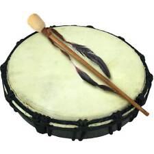 "10"" Handmade Ceremonial Drum Instrument Earth Shaman World Hand Native Circle"