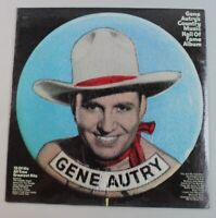 Gene Autry's Country Music Hall Of Fame Album, vinyl LP, New, Sealed