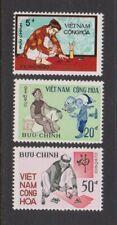 1972 South Vietnam Stamps Vietnamese Scholar Sc # 425 - 27 MNH