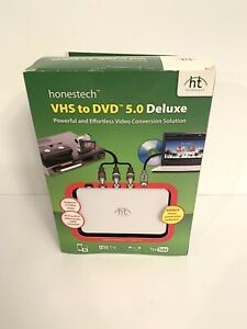 Honestech VHS To DVD 5.0 Deluxe Video Converter NEW
