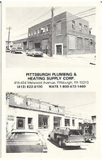 Pittsburgh Plumbing & Heating Supply in Pittsburgh PA Multiview Postcard 1970's