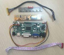 (HDMI+DVI+VGA+Audio)Driver Board Monitor Kit for B154EW08/LTN154X3-L01 1280X800