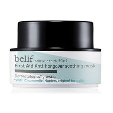 Belif First Aid Anti-Hangover Soothing Mask  Korea True Herbal Cosmetic