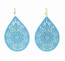 USA Charming Earring Chunky Fancy Lightweight Dangle Drop Blue fashion new