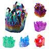 Natural Crystal Quartz Cluster Geode Druzy Stones Healing Stone Reiki Specimens