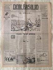 Don Basilio n.6 - 5 febbraio 1950 settimanale satirico d'opposizione