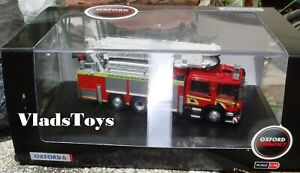 Oxford 1/76 Scania Aerial Rescue Pump - Scottish Fire & Rescue Service 76SAL006