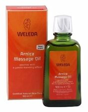 WELEDA Arnica massage oil 100ml natural warming soothing muscular aches & pains