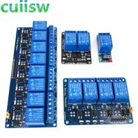 1 2 4 8 Channel DC 5V Relay Module with arduino Board Expansion Trigger
