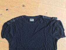 Weekday Gr.S-M, Designer Shirt, Schulterbänder, loose fit, extravagant