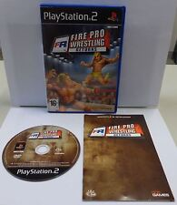 Console Game SONY Playstation 2 PS2 PSX2 PAL FIRE PRO WRESTLING RETURNS - 505 -