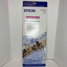 New Epson S041145 Panoramic Photo Paper 10 Sheets sealed