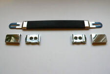 Silver Guitar Amplifier Strap / Handle for Marshall Plexi amp cabinet