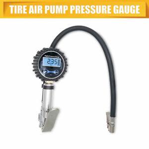LCD Digital Display Tyre Inflator Car Air Pressure Tire Compressor Gauge 200 PSI