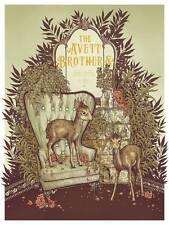 Avett Brothers poster Target Center Minneapolis, MN 6/11/16