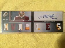 ROBERT GRIFFIN lll 2013 PANINI PLAYBOOK ROOKIES SIGNATURES 7 SICK PATCHES #9/25