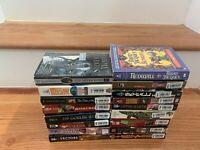 Lot of 17 Sci-fi/Fantasy Paperbacks Orson Scott Card/Redwall/Karen Miller+