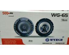 cc Coppia Di Casse Auto Altoparlanti Speaker 500 Watt 16 Cm Modello Wg-65 linq