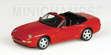 Porsche 968 Cabriolet 1994 Red 1:43 Model MINICHAMPS
