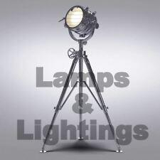 Vintage Style Cinema Light Royal Master Tripod Steel Floor Lamp