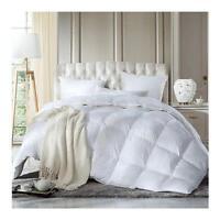 13.5 Tog Duck Feather and Down Duvet Quilt Bedding Dust Mite Cover Anti Allergen