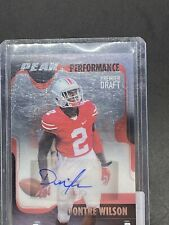 2017 Sage Hit Auto RC Dontre Wilson OSU