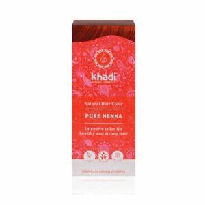 Khadi Herbal Natural Hair Colour Pure Henna 100g