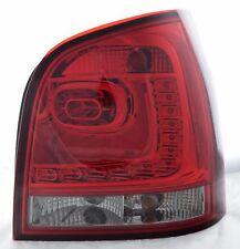 Arrière Arrière Feux Lampes pour VW Polo 9N 02-05 LED Rouge Foncé Fumé