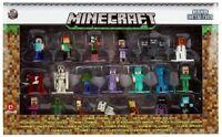 Jada Toys Nano Metalfigs Minecraft Set Of 20 Diecast Mini Figures Steve Alex