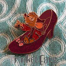 Loungefly Disney Cinderella 70th Anniversary Pin Of Jaq In Slipper Pin