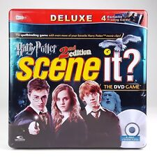 Scene It Harry Potter 2nd Ed (Deluxe Ed) DVD Video Game 2007 w/COLLECTIBLE TIN