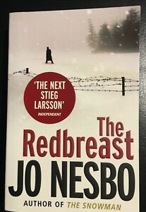The Redbreast by Jo Nesbo - A Harry Hole crime thriller