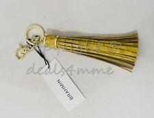 Brahmin Leather Long Tassel Key Ring in Saffron Melbourne. Beautiful Accessory