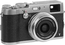 BOXED FujiFilm X100T 16.3MP Mirrorless Digital Camera - Silver HD Wi-Fi