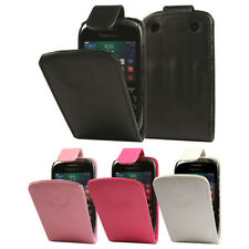FLIP LEATHER CASE COVER FOR BLACKBERRY CURVE 9320