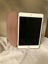 Apple iPad mini 4 16GB, Wi-Fi, 7.9in - Gold - Slightly Used