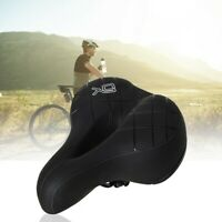Ergonomic Bicycle Seat Cushion With Anti-vibration Spring And Punched Foam Syste