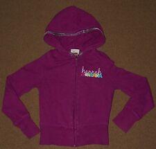 Girls HANNAH MONTANA Fuchsia HOODIE Hooded Jacket Size S Small 6 6X