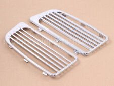 Chrome Radiator Grills Lower Fairing Twin Cooled for 2014-2019 Harley Touring