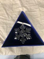 Nib Swarovski Annual Edition 2016 Snowflake Christmas Ornament