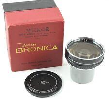 Nikon Nikkor-H 50 mm 5 cm f/3.5 Lens For Bronica w/ Box - Japan