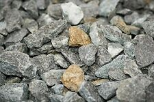 "1000 kg.Granit ""Glamour"" Zierkies Splitt Kies Garten schwarz anthrazit gold."